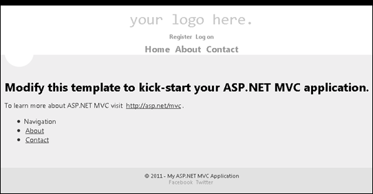 ASP.NET MVC page in mobile view