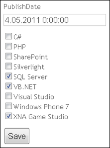 ASP.NET MVC checkbox list