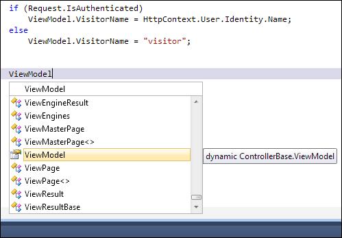 ASP.NET MVC ViewModel