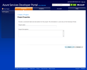 Windows Azure: Starting with new project