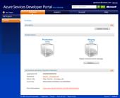 Windows Azure: Project dashboard