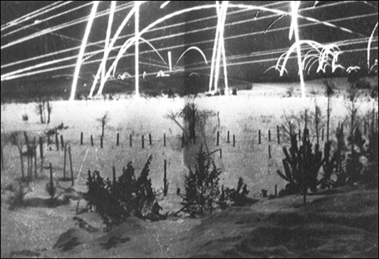 Tracer fire at Winter War