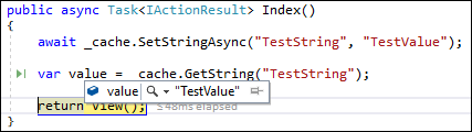 ASP.NET Core: Playing with SQL Server cache