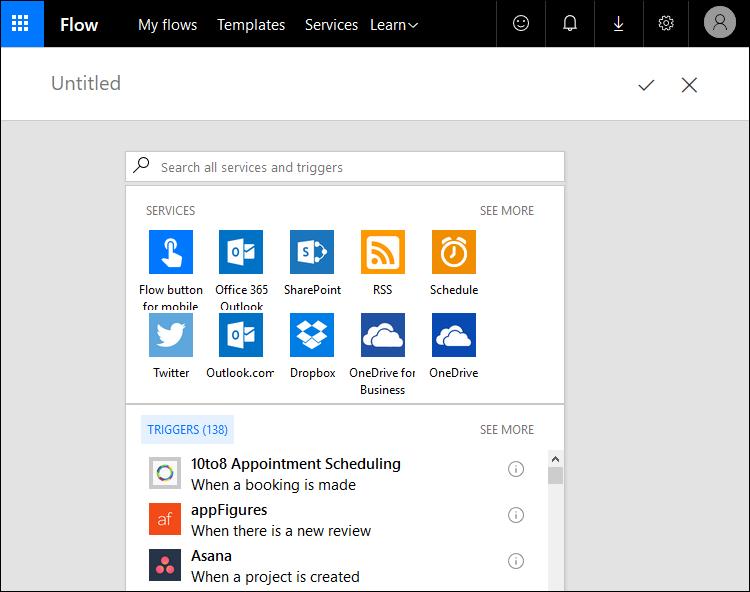 Microsoft Flow: Add new trigger