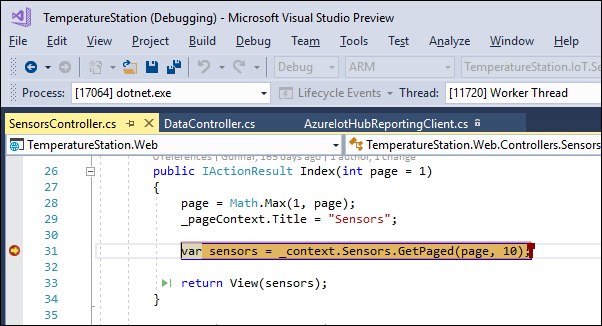 Shared debugging with Visual Studio Live Share