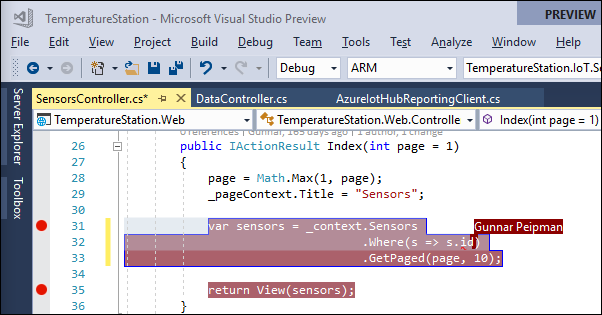 Collaborative coding with Visual Studio Live Share