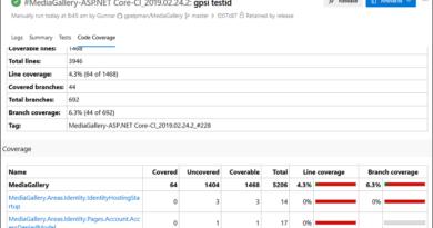 ASP.NET Core code coverage reports on Azure DevOps