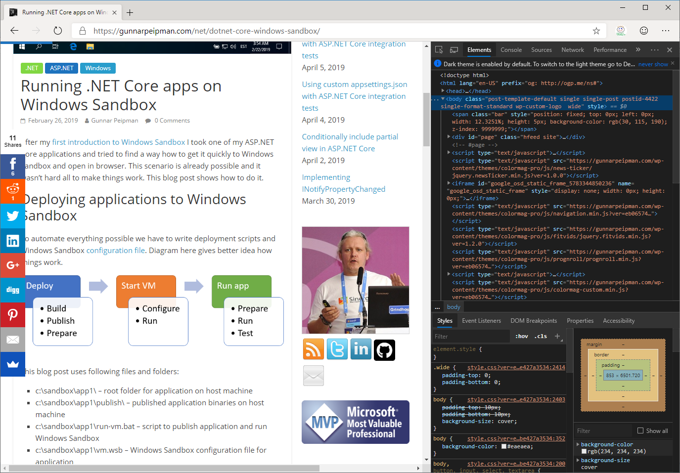 Edge Insider: Developer Tools