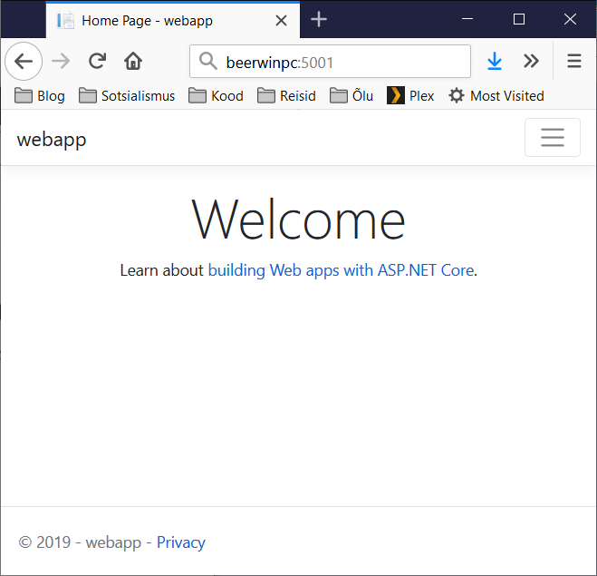 Installing ASP NET Core 3 0 on RaspberryPi and Windows 10