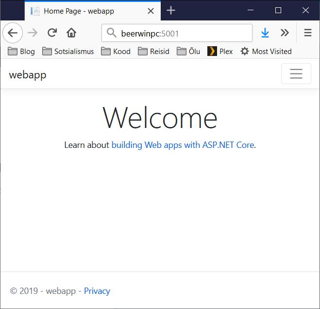 ASP.NET Core 3.0 on RaspberryPi