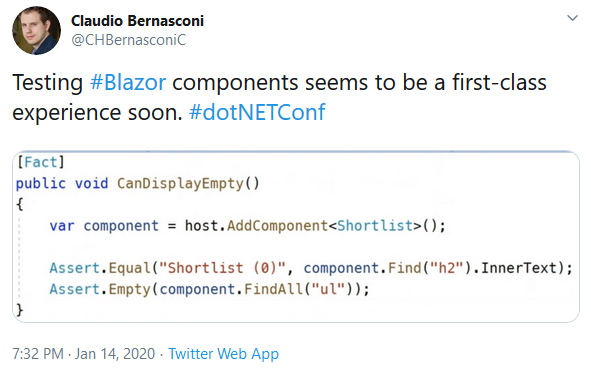blazor-unit-test-tweet