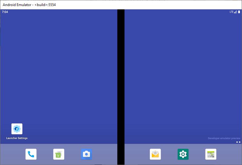 Surface Duo emulator