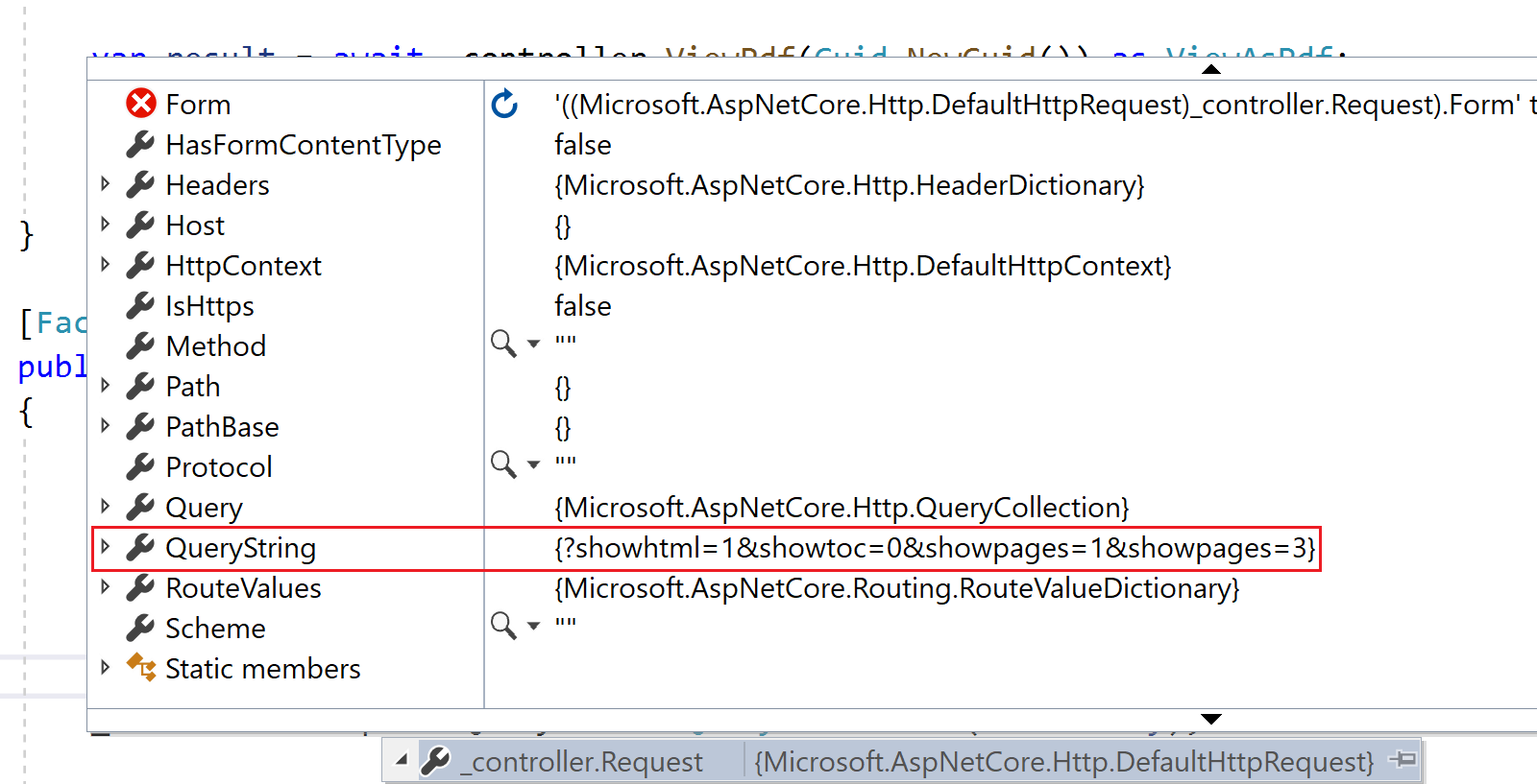 Multi-valued query string parameter in ASP.NET Core unit test
