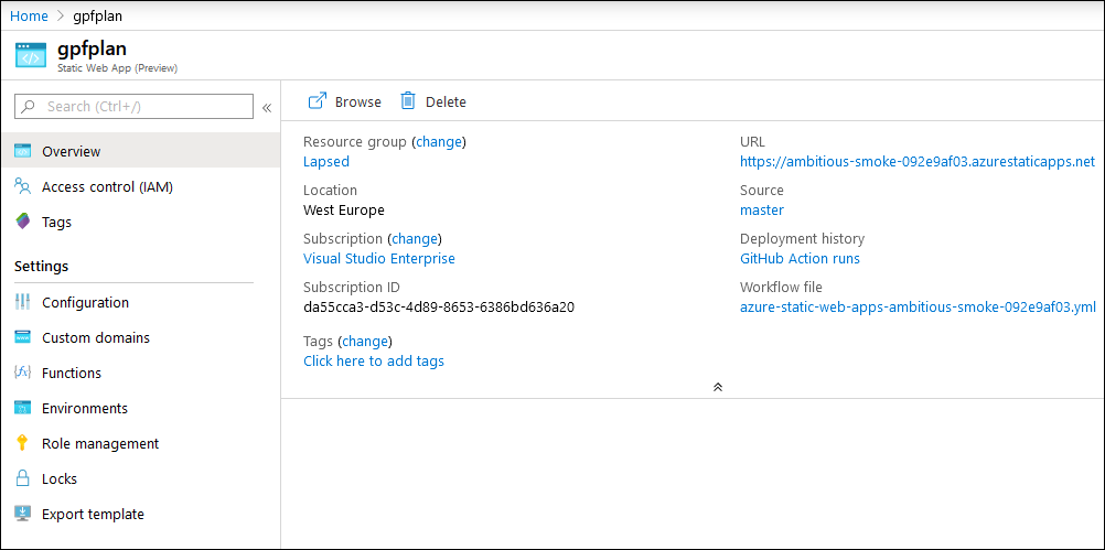 azure-static-web-app-overview