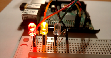 Raspberry Pi traffic lights